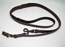 Guinzaglio per cani grandi addestramento in vero cuoio da cm 220 made in italy