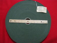 COTTON WEBBING MILITARY SPEC OLIVE DRAB 1 1/4 IN WIDE 60 YD ROLL NEW OLD STOCK