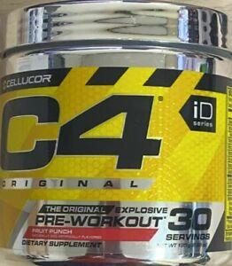 C4 Original Pre-Workout Caffeine Alanine Creatine Fruit Punch EXP.05/2023 (k2)