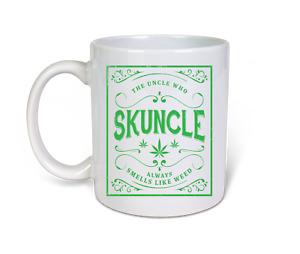 Skuncle Uncle Weed Skunk Funny 11oz novelty Coffee Mug