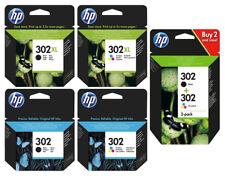Original HP 302/302xl Druckerpatronen F6U68AE F6U67AE F6U66AE F6U65AE X4D37AE