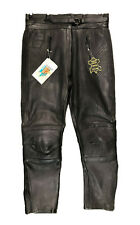 Akito Lady Mercury Ladies Leather Black Trousers Motorcycle Motorbike Womens 20