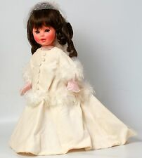 Furga Alta Moda Simone Doll 1960s Winter White Velvet Original Clothes Sound