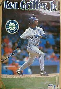 RARE KEN GRIFFEY JR MARINERS 1993 VINTAGE ORIGINAL MLB STARLINE POSTER
