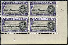 George VI (1936-1952) Ascension Island Stamp Blocks
