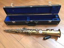 Saxophone Soprano Borgani   Vintage