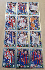 DUOS IMPARABLES SET COMPLETE + NUEVO 12 Cards Panini Adrenalyn XL LIGA 2014 2015