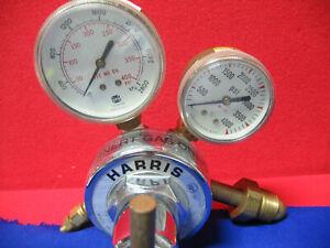 HARRIS 25-500 R-580 COMPRESSED GAS REGULATOR
