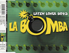 "LATIN LOVER BOY ""LA BOMBA"" RARE GERMAN CD MAXI / LOS REYES - ZAMBRANA MARCHETTI"