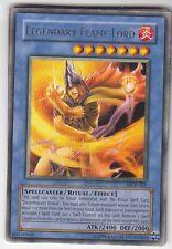 YU-GI-OH Legendary Flame Lord Rare englisch DCR-081 Legendärer Lord der Flammen