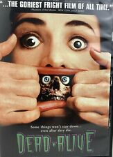 Dead Alive DVD 1998 Unrated Version RARE OOP A Peter Jackson Film Zombie Horror