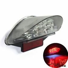 Motorcycle 16 LED License Plate Tail Light Clear For BMW F650 F800 R1200 GS ADV