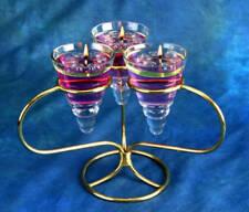 Velas decorativas transparentes de plástico para el hogar