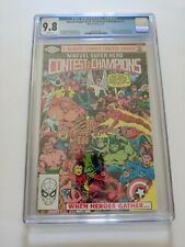 Marvel Contest of Champions #1, CGC 9.8, White Pages 1982