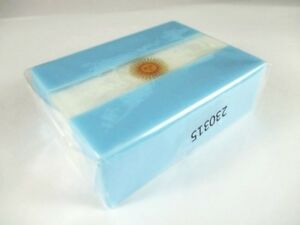 Soap Argentina Flag, 190 Size Travel Souvenir, New