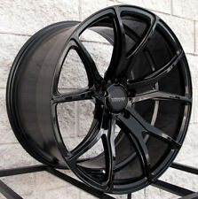 "20"" Varro VD01 Staggered Wheels and Tires for BMW X5 & X6 - Glossy Black Rims"