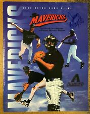 High Desert Mavericks 1997 Scorecard signed by Travis Lee & Jerry Colangelo