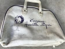 vintage bowling ball bag European Health Spa