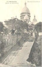 Carte Postale - (75) Paris - CPA - Montmartre - Escalier de la Barre
