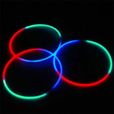"600 24"" Glow Necklaces in Tri-Color Red, Green and Blue"