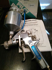 Walther Pilot Xiii N Pressure Paint Spray Gun Binks Devilbiss Sata Iwata