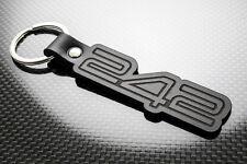 Volvo 242 Leather Keyring Keychain Schlüsselring Porte-clés GL GLE GLT 2dr Coupe