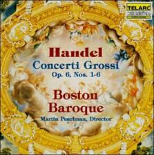 Handel: Concerti Grossi, Op. 6, Nos. 1-6 (CD, Jul-1992, Telarc Distribution)
