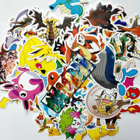 95pc POKEMON GO Pikachu Cartoon Stickers Skateboard Laptop Sticker Luggage Decal