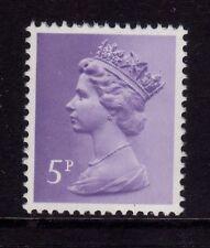 GB 1979 Machin Definitive 5p pale violet SG X934 MNH