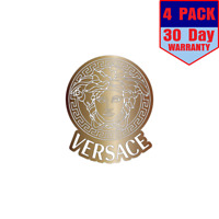 Versace Cooper Color 4 Stickers 4x4 Inches Sticker Decal