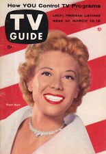 1955 TV Guide March 12 -  Dinah Shore; Nanette Fabray; The Vise; Bob Cummings