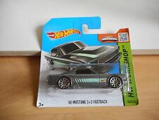 Hotwheels '65 Mustang 2+2 Fastback in Grey on Blister