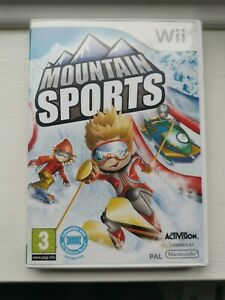 Mountain Sports - Nintendo Wii - Official FREE POST UK