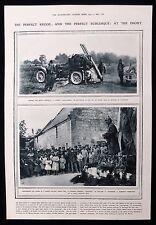 FRENCH AUTOCANNON ANTI-AIRCRAFT GUN WW1 FIRST WORLD WAR PHOTO ARTICLE 1915