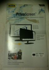 FELLOWES 19 INCH / 482.6mm WIDESCREEN PRIVASCREEN BLACK0UT PRIVACY FILTER