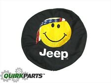 Jeep Wrangler or Liberty Rear Tire Cover SMILEY MOPAR  GENUINE OEM NEW