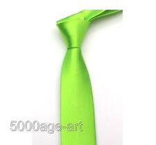British Style Men's Plain Slim Narrow Arrow Necktie Skinny Tie Neckwear U Pick