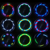 14 LED Motorcycle Bike Cycling Bicycle Wheel Signal Tire Spoke Light 30 Changes