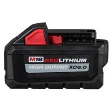 Brand New Genuine Milwaukee 48-11-1865 M18 18v HIGH OUTPUT XC 6.0 Battery