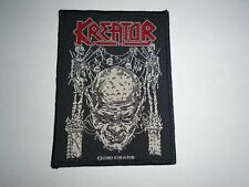 KREATOR COMA OF SOULS SKULL WOVEN PATCH