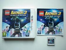 Lego Batman 3 Au delà de Gotham Jeu Vidéo Nintendo 3DS
