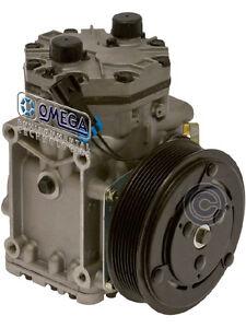 Aftermarket York Type AC Compressor Replaces: ET210L-25246C Peterbilt Kenworth