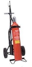 30kg CO2 Feuerlöscher Kohlendioxid Löschwagen Jockel K30J fahrbar