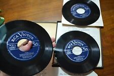 RCA VICTOR BEETHOVEN PIANO CONCERTO #3 45 RPM RECORD SETOF3 6 SIDES MOISEIWITSCH