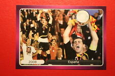 Panini EURO 2012 N. 538 ESPANA  NEW With BLACK BACK TOPMINT!!