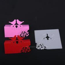Bird Cutting Dies Stencils Scrapbook Embossing DIY Craft Album Card Gift Decor