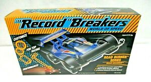Record Breakers World Of Speed Road Burner Series ROAD GRABBER Hasbro 1989 NIB