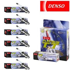 6 - Denso Platinum TT Spark Plugs for Chevrolet Traverse 3.6L V6 2009 Tune