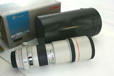 Canon EF 300mm f/4 L USM, OVP (box)