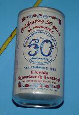 Strawberry Festival, Plant City, Florida Pepsi Bank Can Rare hillsborough Fair